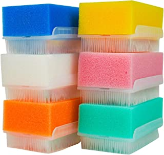 bA1 Sensory Brush for Autism (6 Pack) - Wilbarger Therapy OT Therapressure Brush - Medical Grade Sterile Sponge Scrub Bristle Brush - Sensory Toys for Autistic Children