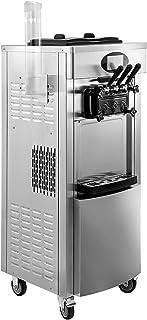 Machabeau Machine à Crème Glacée Verticale Professionnel Sorbetière à Glace Ice Cream Machine