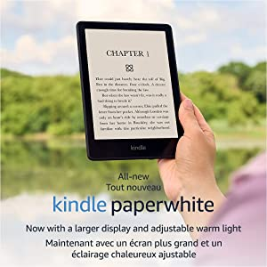 """All-new Kindle Paperwhite (8 GB) – Now with a 6.8"""" display and adjustable warm light"""