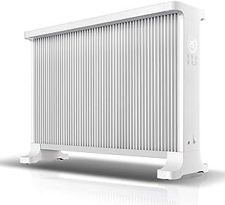 Radiador eléctrico MAHZONG Calentador de convección 2.4KW con 2 configuraciones de calefacción, Control Remoto, Temporizador, Turbo Ventilador, termostato: protección contra vuelcos y sobrecalentam