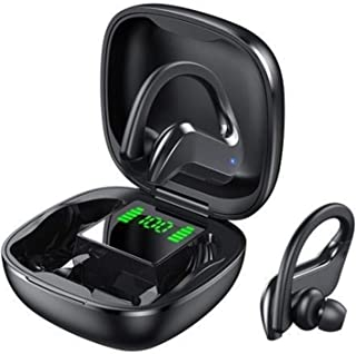 Earphone Bluetooth 5.0 Wireless Touch With Digital Display Charging Box Stereo Earplugs Waterproof And Noise Reduction