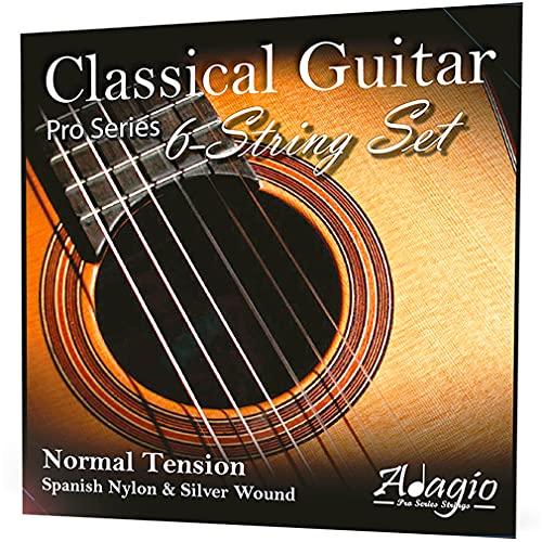 Adagio Pro CLASSICAL Guitar Strings - Normal Tension Nylon - Full Pack/S