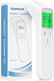 Thermometer for Fever, Non-Contact Forehead Thermometer with Object Mode Function,Fever Alert and 20 Set Memory Recall,Best Care Thermometer for Adults and Baby Kids