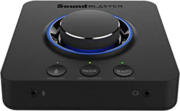Creative 70SB181000000 Sound Blaster X3 Digital Audio Converter - Black