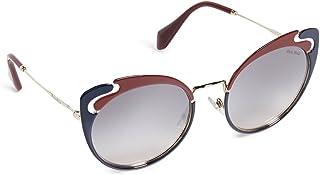 ميو ميو نظارات شمسية عين القطة للنساء ، رمادي - MU57TS HB5GR0 54