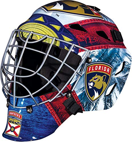 Florida Panthers Unsigned Franklin Sports Replica Goalie Mask - Unsigned Mask