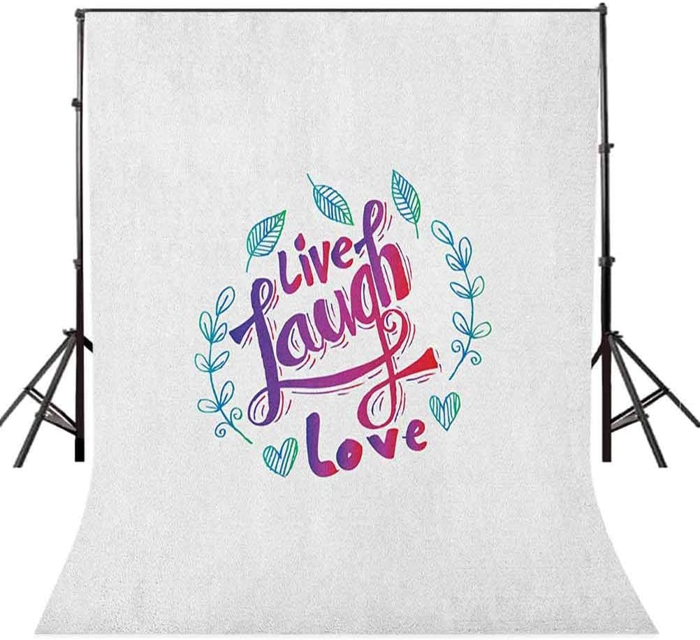 8x12 FT I Love You More Vinyl Photography Backdrop,More Than Cookies Sweet Vanilla Cookies Font with Letter O is as Heart Background for Baby Birthday Party Wedding Studio Props Photography