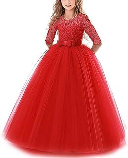 Vestidos De Princesa Fiesta de la Boda de Las Niñas, Bordado, Baile de graduación, Vestido, Princesa, Vestido de Novia