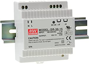 [PowerNex] Mean Well DR-30-12 12V 2A 24W Single Output Industrial DIN RAIL Power Supply