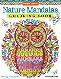 Nature Mandalas Coloring Book on thebusywoman.com