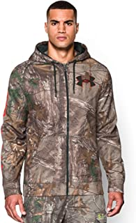 featured product Under Armour Men's UA ColdGear Infrared Scent Control Caliber Camo Hoodie (L, REALTREE AP-XTRA)