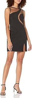 SHO womens SLVLESS NEOPRENE DRESS Special Occasion Dress