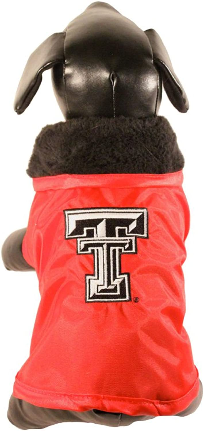 NCAA Texas Tech Red Raiders All Weather Resistant Predective Dog Outerwear