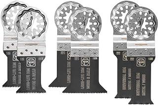 Fein 3522952300 Accessoireset | E-cut zaagbladen met bi-metalen vertanding | StarLock gereedschapshouder | geschikt voor a...