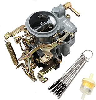 KIPA Carburetor for Nissan Pulsar Base A12 DATSUN SUNNY B210 1.6L, Replace OEM Part Number 16010-H1602 16010H1602 With Fuel Filter & Carbon Dirt Jet Cleaner Tool Kit