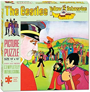 USAOPOLY The Beatles Yellow Submarine Puzzle