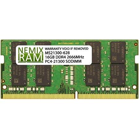 Dell Compatible SNPCRXJ6C//16G AA075845 16GB NEMIX RAM Memory for Latitude Laptops
