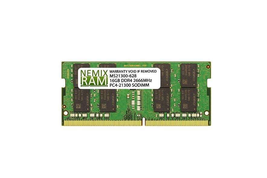 脈拍カプセル発信Dell 互換 SNPCRXJ6C/16G AA075845 16GB NEMIX RAM メモリ Inspiron ノートパソコン用