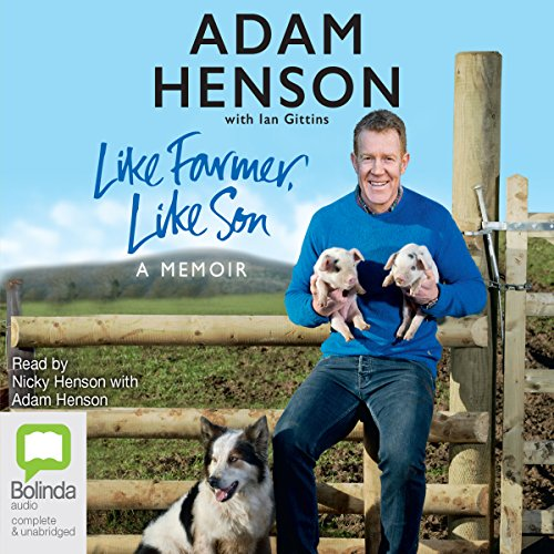 Like Farmer, Like Son audiobook cover art