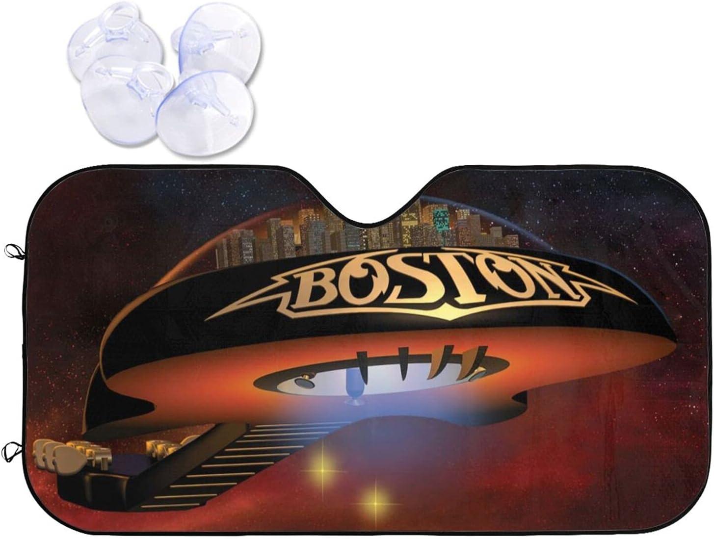 Boston Rock Band Car 2021 new Detroit Mall Sunshade Prevention and Windshield Sun Heat