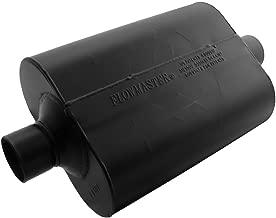Flowmaster 952545 Super 40 Muffler - 2.50 Center IN / 2.50 Center OUT - Aggressive Sound