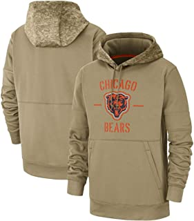 Dunbrooke Apparel Chicago Bears 2019 Salute to Service Therma Pullover Hoodie