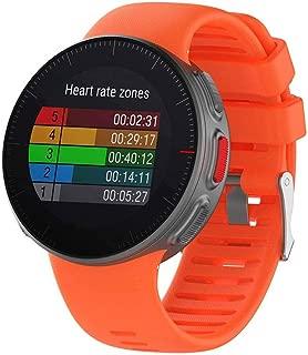 HAWEEL Bands Sports Wristbands Straps, Smart Watch Wrist Strap Watchband for Polar Vantage V (Black)