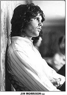 Jim Morrison 1968 Photo Band Album Rock Music Vintage Style Cool Wall Decor Art Print Poster 24x36