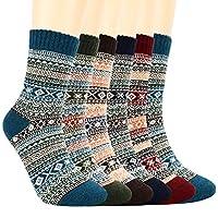 👢【MATERIALI DI ALTA QUALITÀ】 I calzini da donna sono realizzati in poliammide, fibra di poliestere, fibra riciclata, altra fibra, spandex. Morbido, confortevole, traspirante, indossabile, traspirante e anti-odore. Tessuto morbido e confortevole, ti a...