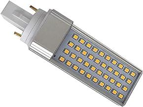 EMGQ Energiebesparende gloeilamp LED-lampen G23 Plug Licht LED Dimmen LED-plug Licht 8W LED PLC BELL COVER (Color : Transp...
