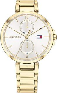 Tommy Hilfiger Reloj de Cuarzo para Mujer con Esfera múltiple Angela