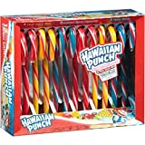 Assorted Flavor Hawaiian Punch Candy Canes, Pack of 12