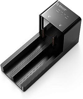 ORICO HDDケース USB3.0接続 HDDスタンド 2.5 / 3.5インチ SATA ハードディスク ケース HDDコピー機能付き HDD/SSD 工具不要 高放熱 10TB*2対応 電源アダプター付 ブラック 6528US3