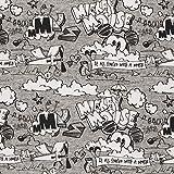 Swafing GmbH Lizenz Sweat Mickey Mouse Schriftzug grau -