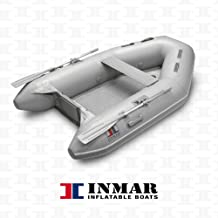 "INMAR 8'0"" Dinghy Tender Inflatable Boat - 240H-TS - 3 Passenger Grey Boat Inflatables"