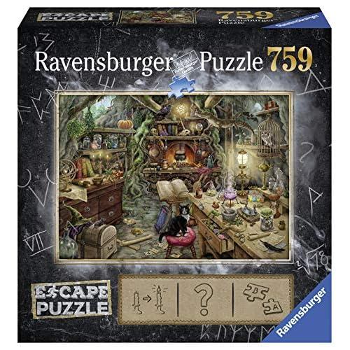 Ravensburger 19958 Escape Puzzle per Adulti, La Cucina della Strega, 759 Pezzi, Dimensioni Finali 70x50 cm