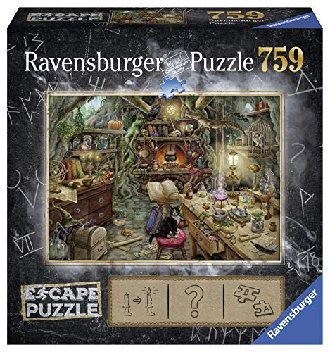 Ravensburger 199587 Puzzel Escape 3 Kitchen Of A Witch - 759 Stukjes