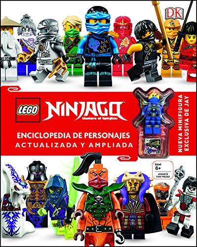 LEGO® Ninjago Enciclopedia de personajes actualizada y ampliada: Incluye una Minifigura exclusiva de Jay