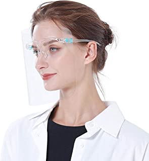 10 Pack Face Shield Reusable Fashionable Glasses Style for Running Cycling Travel Camping Outdoor for Kids Teens Men Women