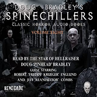 Doug Bradley's Spinechillers, Volume Eight cover art
