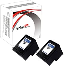 PerfectPrint - 2 remanufacturados cartucho de tinta negro reemplazo 301XL para HP Deskjet 1000 1050 A 2000 2050 A 2050se 2054 A 3000 3050 una 3050se 3050ve 3052 una 3054 A