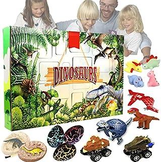 アドベントカレンダー 2021クリスマスカレンダー 24日間のリアルな恐竜の動物のおもちゃセット クリスマスカウントダウンクリスマスギフト 子供大人のためのサプライズボックスギフト.Christmas Advent Calendar