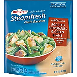 Birds Eye Steamfresh Vegetables, Roasted Red Potato & Green Beans, 10.8 Ounce (frozen)