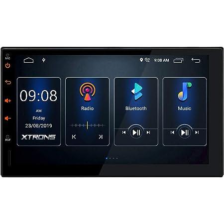 Xtrons 7 Double Din Android 10 0 Autoradio Mit Elektronik