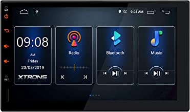 XTRONS Android 10.0 Car Stereo Radio Player 7 Inch Touch Screen GPS Navigation Universal Double Din Built-in DSP Bluetooth...