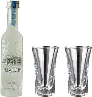 Geschenkidee Belvedere Mini | Polnischer Wodka | 0,05 Liter