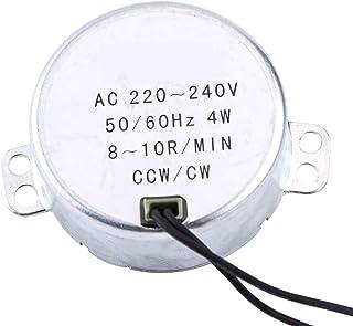1pc 220-240V synchrone synchrone motor, 4W CW/CCW Geared motor, synchrone motor (8-10 RPM)
