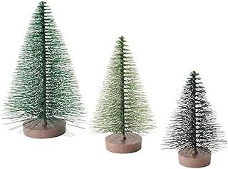 Digital Shoppy IKEA Decoration Christmas Tree, Green- Set of 3