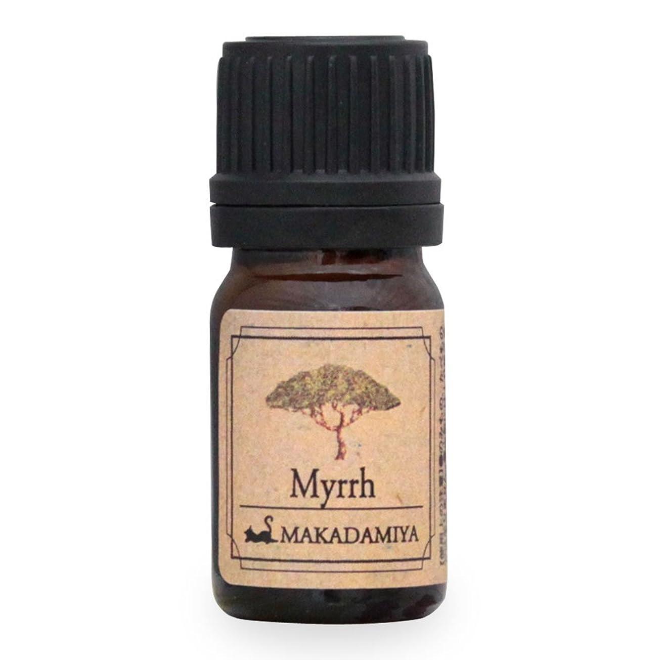 スキーム帰る任意ミルラ5ml 天然100%植物性 エッセンシャルオイル(精油) アロマオイル アロママッサージ aroma Myrrh