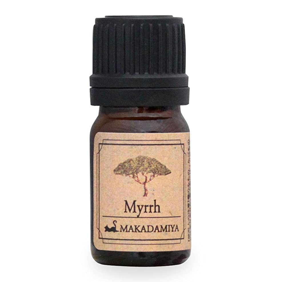 本当のことを言うとチョーク手がかりミルラ5ml 天然100%植物性 エッセンシャルオイル(精油) アロマオイル アロママッサージ aroma Myrrh